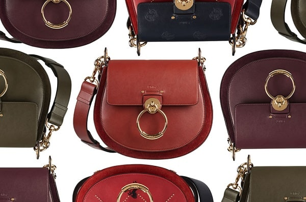A color collection of Chloe Tess Bag