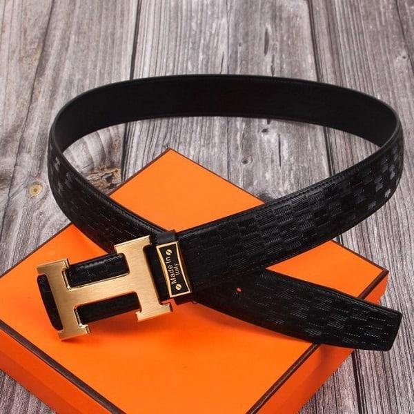Belts of luxury brands