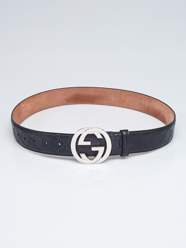 Gucci GG Guccissima Belts