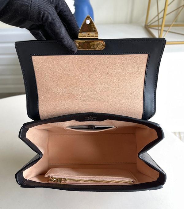 The lining of Louis Vuitton Trianon Bag Replica